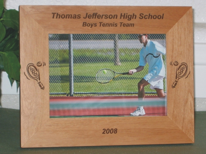 Tennis Picture Frames