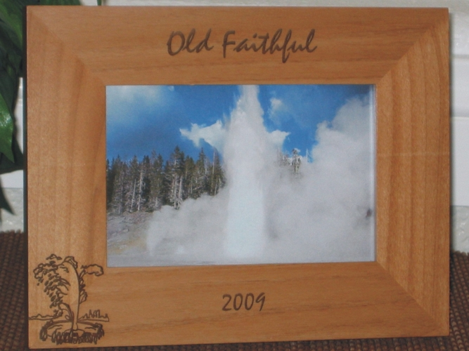 Wyoming Souvenir Picture Frames