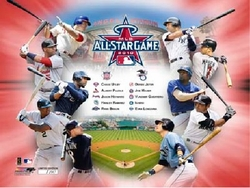 2010 All Star Game Players Collage