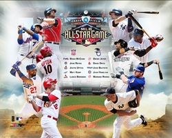 2011 All Star Players Collage
