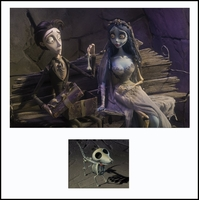 A Bone of Scraps from Corpse Bride - Warner Bros. By Clampett Studios