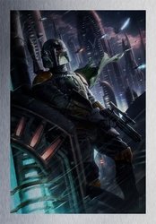 """""""A Hunter in the Endless City"""" by Raymond Swanland"""