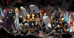 All New X-Men Petite Canvas