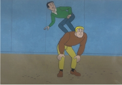 Archie Production Cel #3