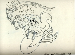 Ariel and Flounder 3