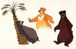 Baloo from Bit Player to Star Litho