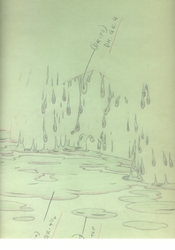 Bambi  (1942) Effects Drawing