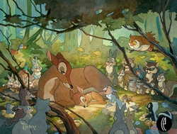 Bambi and Mother - Limited availability