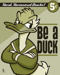 Be a Duck <br> Canvas
