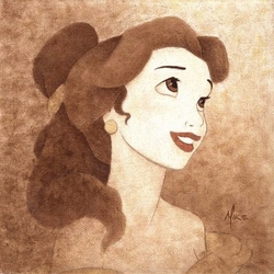 Belle Portrait <br> Canvas
