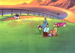 Betty Boop & Friends #14 Production Cel Remake