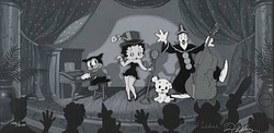 Betty Boop Show Time