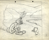Bugs Bunny & Baby Chick #2 - Production Drawings