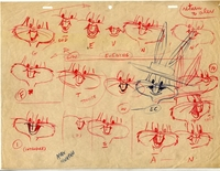 Bugs Bunny Drawing - Production Drawings