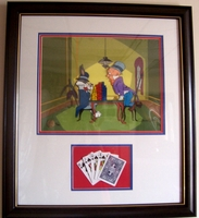 "Bugs Bunny & Elmer Fudd ""ALL IN"" - Bugs Bunny Art"