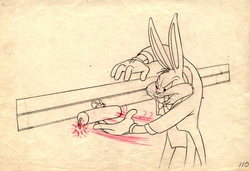 Bugs Bunny Original <br> Production Drawing