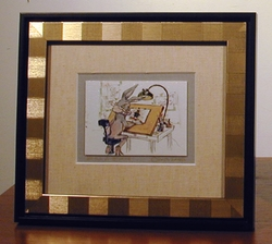 "Bugs Bunny ""Still a Stinka"" Mini Giclee Framed"