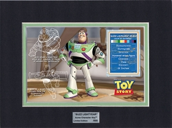 Buzz Lightyear Character Key