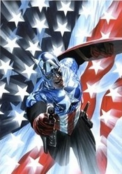 Captain America #34 Canvas