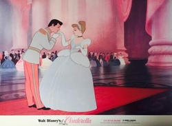 Cinderella and Prince Charming Lobby Card