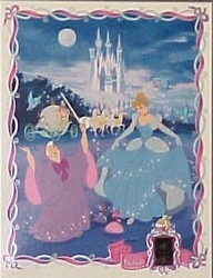 Cinderella Lighted Inset Film