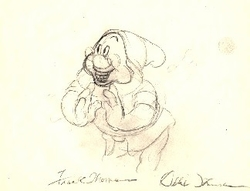 "Doc  from ""Snow White""(1937)<br> Signed Prod Drawing #74"