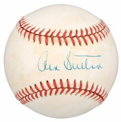 Don Sutton<br> signed baseball