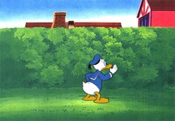 "Donald from ""Careers""(1982) Production Cel #1"