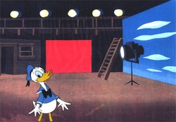 "Donald from ""Careers""(1982) Production Cel #11"