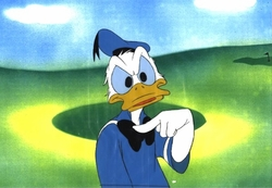 "Donald from ""Careers""(1982) Production Cel #D35"