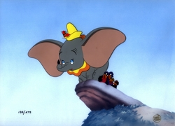 Dumbo Limited Edition Cel