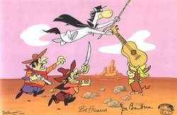 El Kabong Quick Draw McGraw <br><font color=red>Please Call