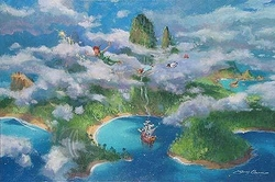 First Look at Neverland <br>Peter Pan Canvas