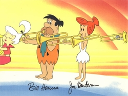 Fred & Wilma group Production Cel (1980's)