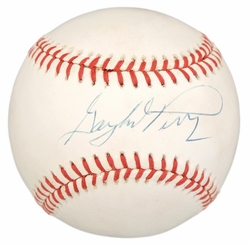 Gaylord Perry<br> Signed  Baseball