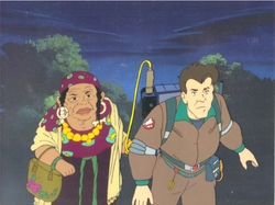 Ghostbusters Production Cel #11