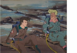 Ghostbusters Production Cel #7
