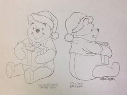 Gift Giving Pooh