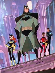 """Gotham Knight""  Batman, Batgirl, Robin and Nightwing"
