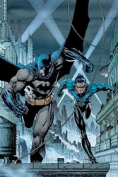 Gotham's Crimefighters by Jim Lee - Paper