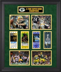 Green Bay 4X Super Bowl<br> Champs Collage