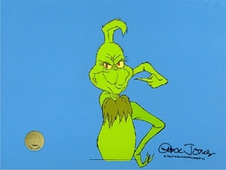 Grinch pointing