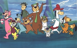 Hanna-Barbera Hand Painted Publicity Cel