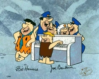 Happy Anniversary Quarlet - Flintstones