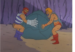 He-Man Production Cel #10