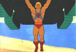 He-Man Production Cel #5