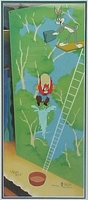 High Diving Sam  Bugs and Yosemite Sam - Warner Bros. By Virgil Ross