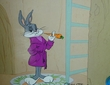 Home Sweet Home - Bugs Bunny Art