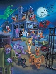 House Swarming from Scooby Doo