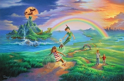 If You Only Believe<br> from Peter Pan Canvas